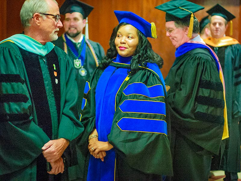 Tulane School of Professional Advancement faculty prepare for commencement in New Orleans, LA