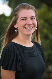 A headshot of Brittney Yandle, a senior academic advisor at the Tulane School of Professional Advancement in New Orleans, LA