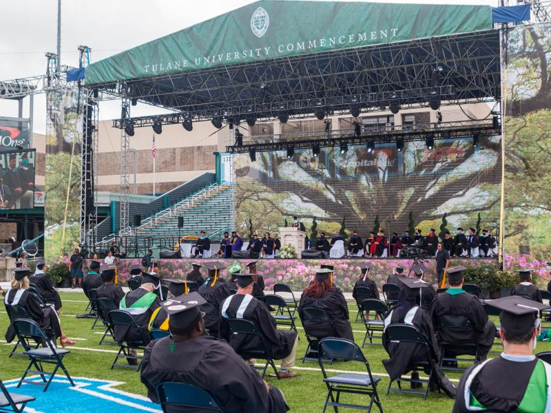 SoPA 2021 Diploma Ceremony Stage