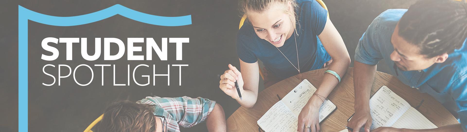 Student Spotlight Header Image
