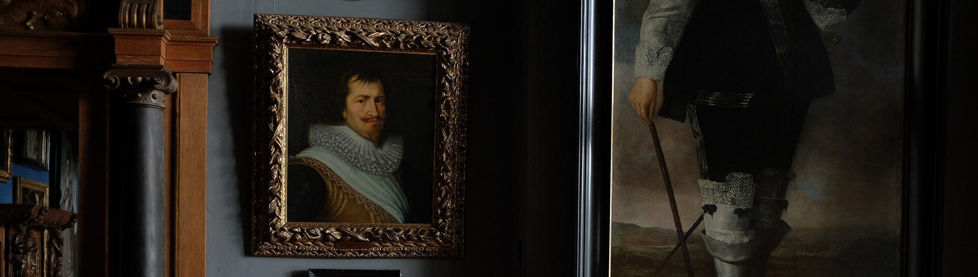 Artwork in a museum