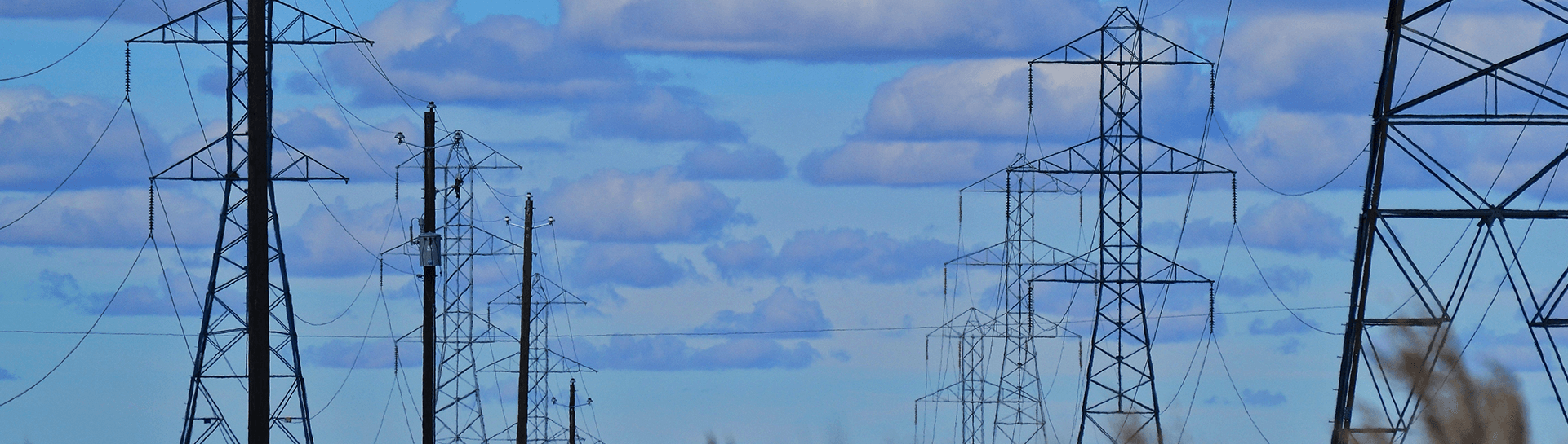 Rows of power lines under a blue sky - Tulane School of Professional Advancement