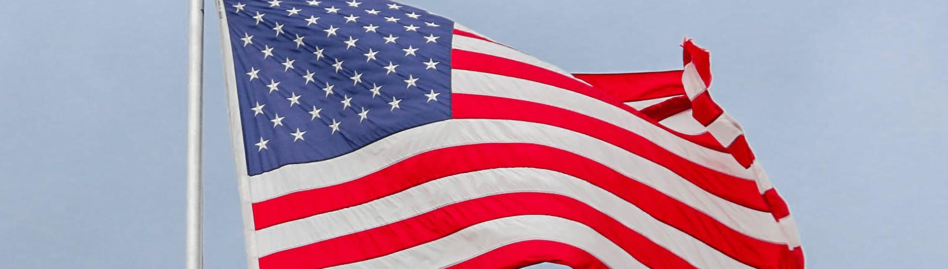 American flag - Tulane School of Professional Advancement