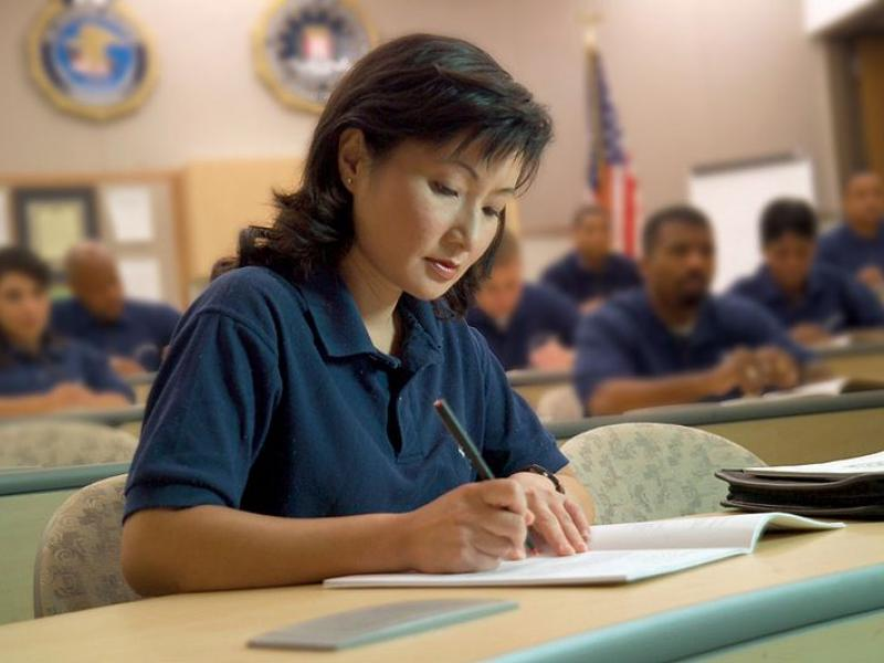 A student at the FBI adademy