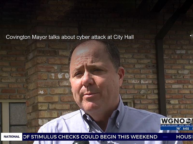 Covington Mayor Mark Johnson