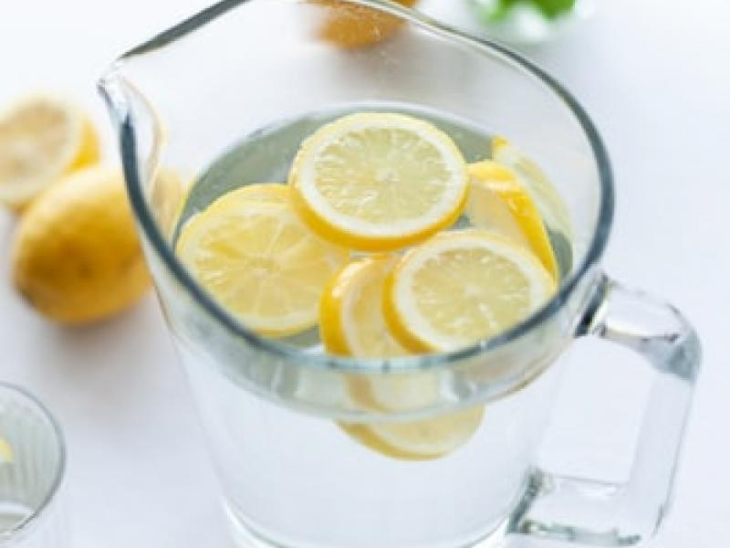 Pitcher of lemon-infused water - Tulane School of Professional Advancement