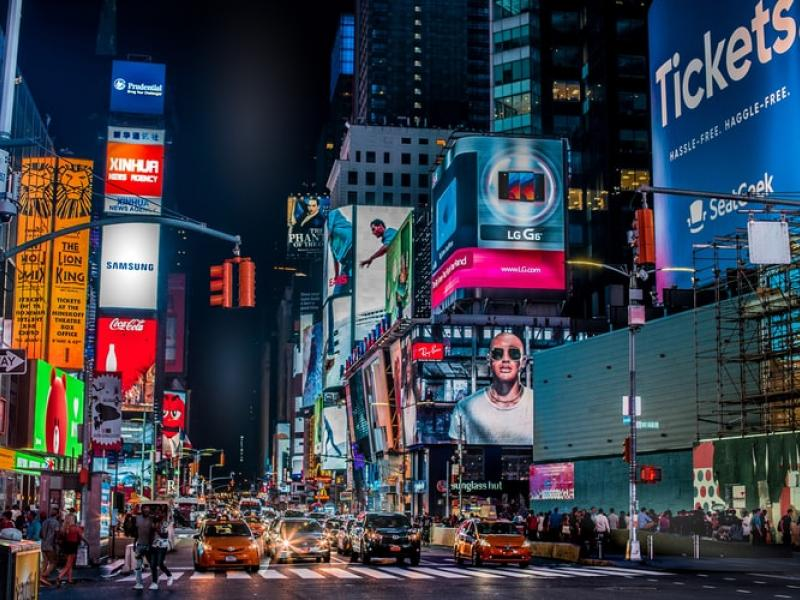 Times Square in New York City - Tulane School of Professional Advancement